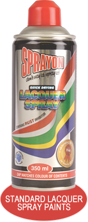 Standard Laquer Spray Paints