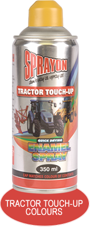 Sprayon Tractor Touch-up Spray Paints